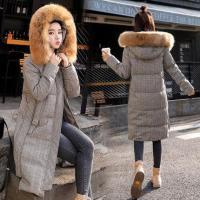 羊羔毛外套女冬2017新款韩版加厚中长鹿皮绒大衣拼接皮毛一体棉服